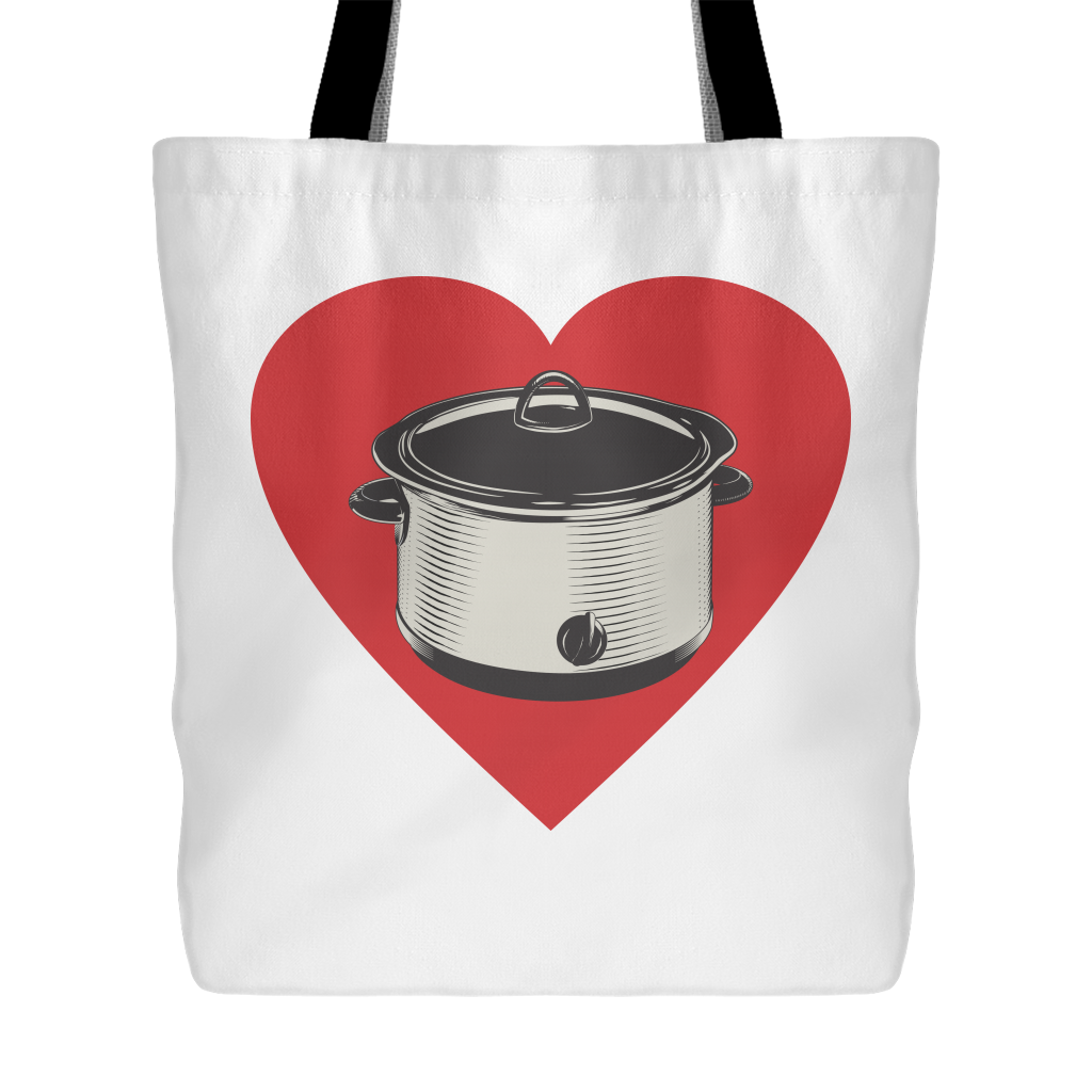 Heart My Slow Cooker Tote Bag