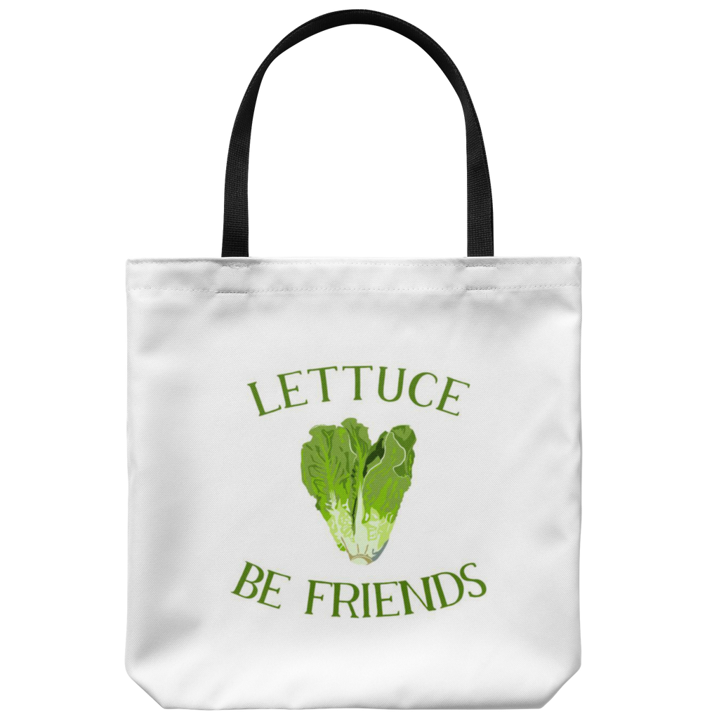 Lettuce Be Friends Tote Bag