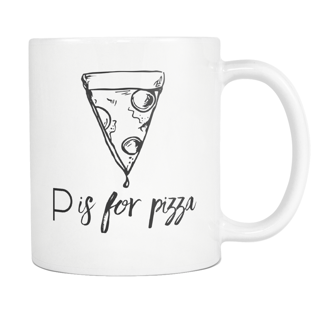 P is for Pizza Mug