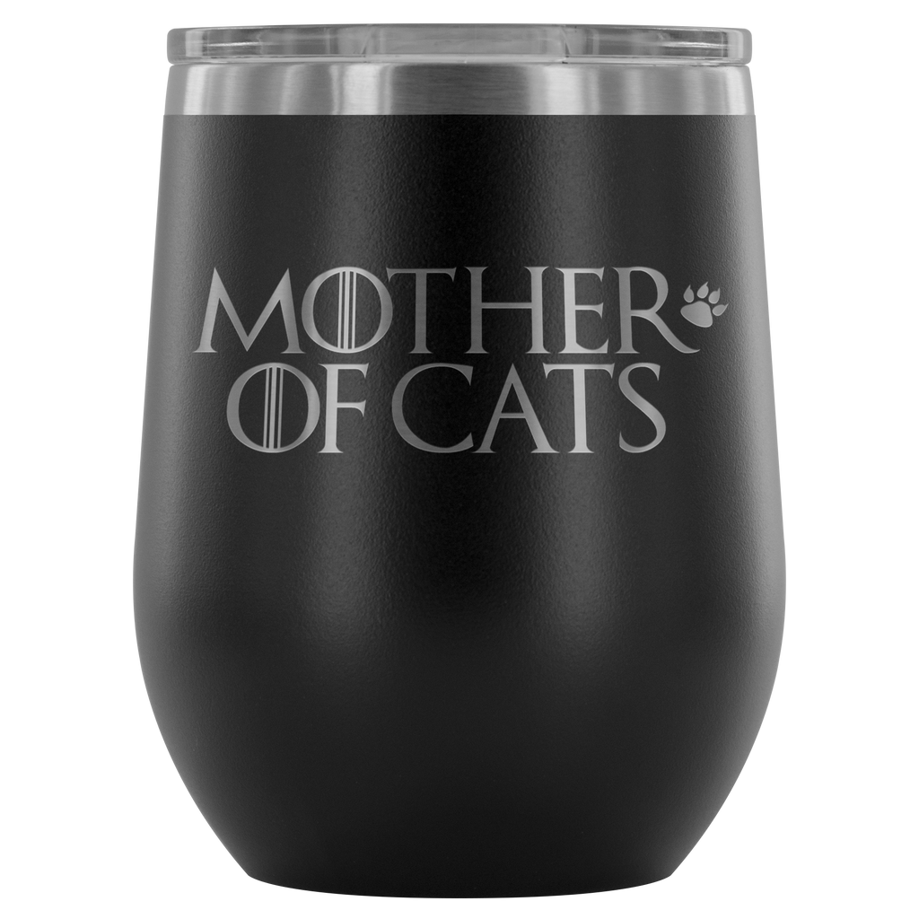 Mother of Cats Wine Tumbler