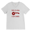 How I Cut Carbs Mens V-Neck T-Shirt