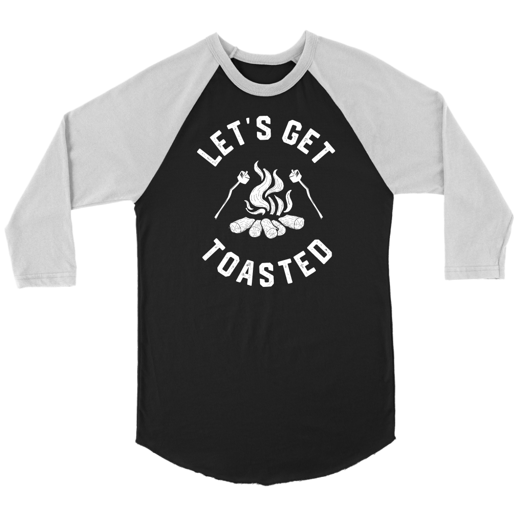 Get Toasted Baseball Tee