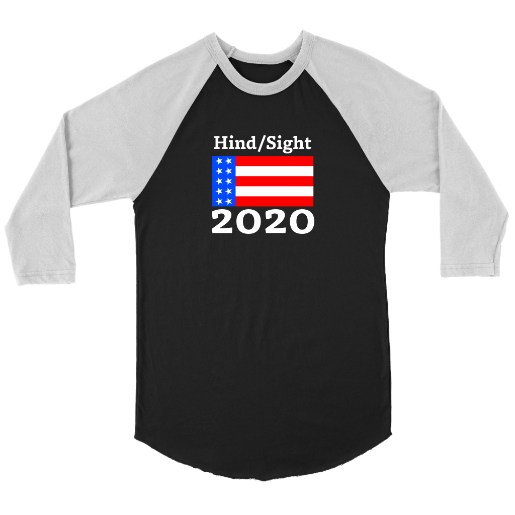 Hindsight 2020 Baseball Tee