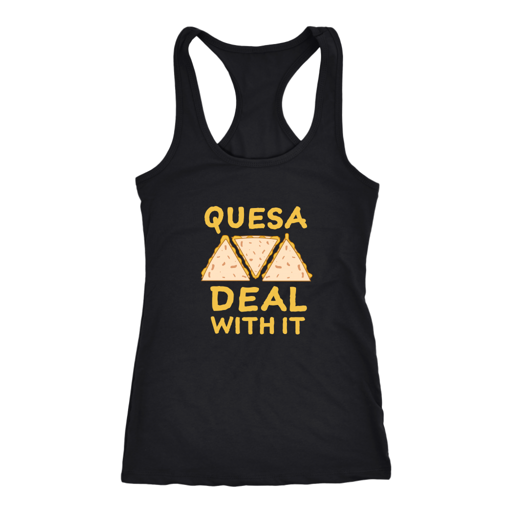 Quesa Deal With It Racerback Tank