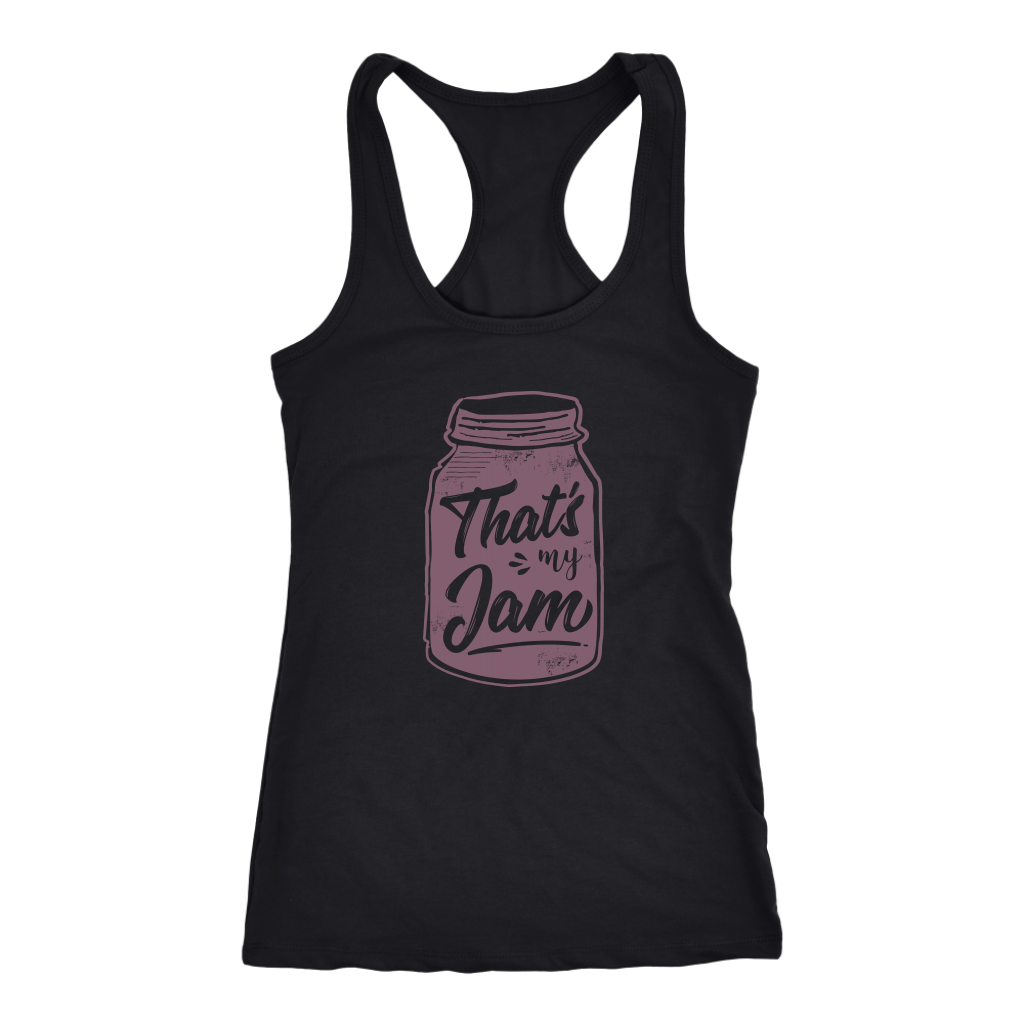 That's My Jam Racerback Tank