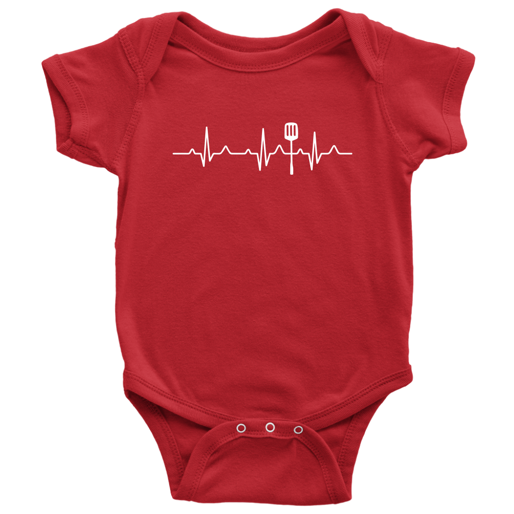 Heartbeat of a Cook Onesie