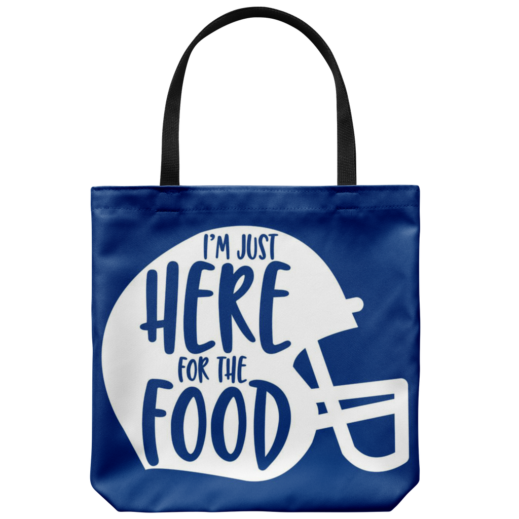 Here For The Food Tote Bag