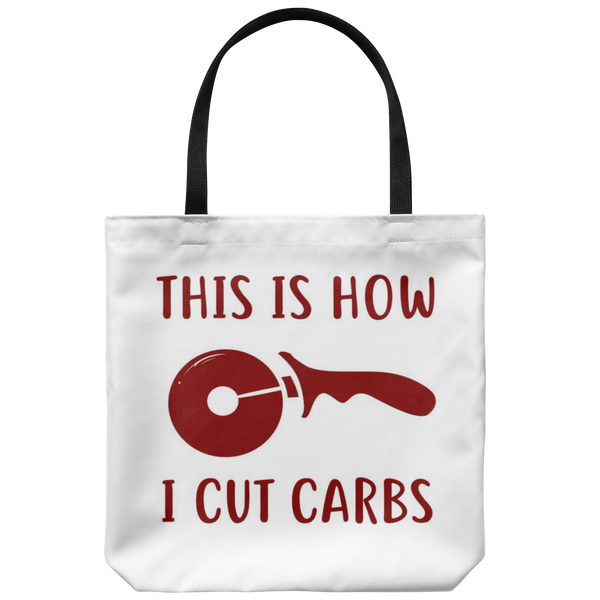 How I Cut Carbs Tote Bag