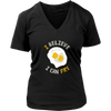 I Believe I Can Fry V-Neck T-Shirt