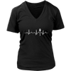 Heartbeat of a Cook V-Neck T-Shirt