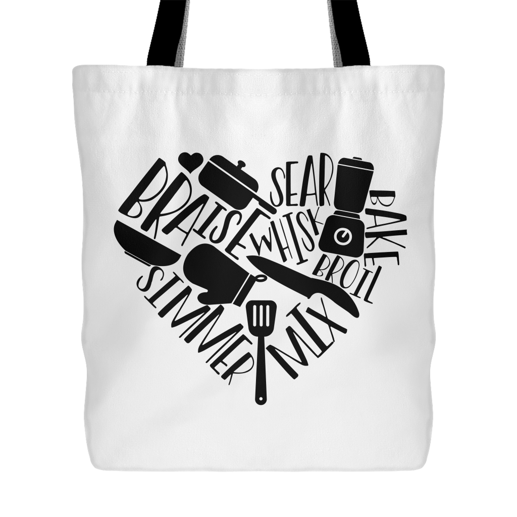 Love to Cook Tote Bag