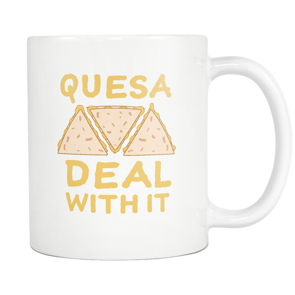 Quesa Deal With It Mug