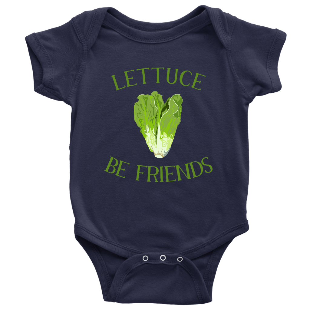 Lettuce Be Friends Onesie