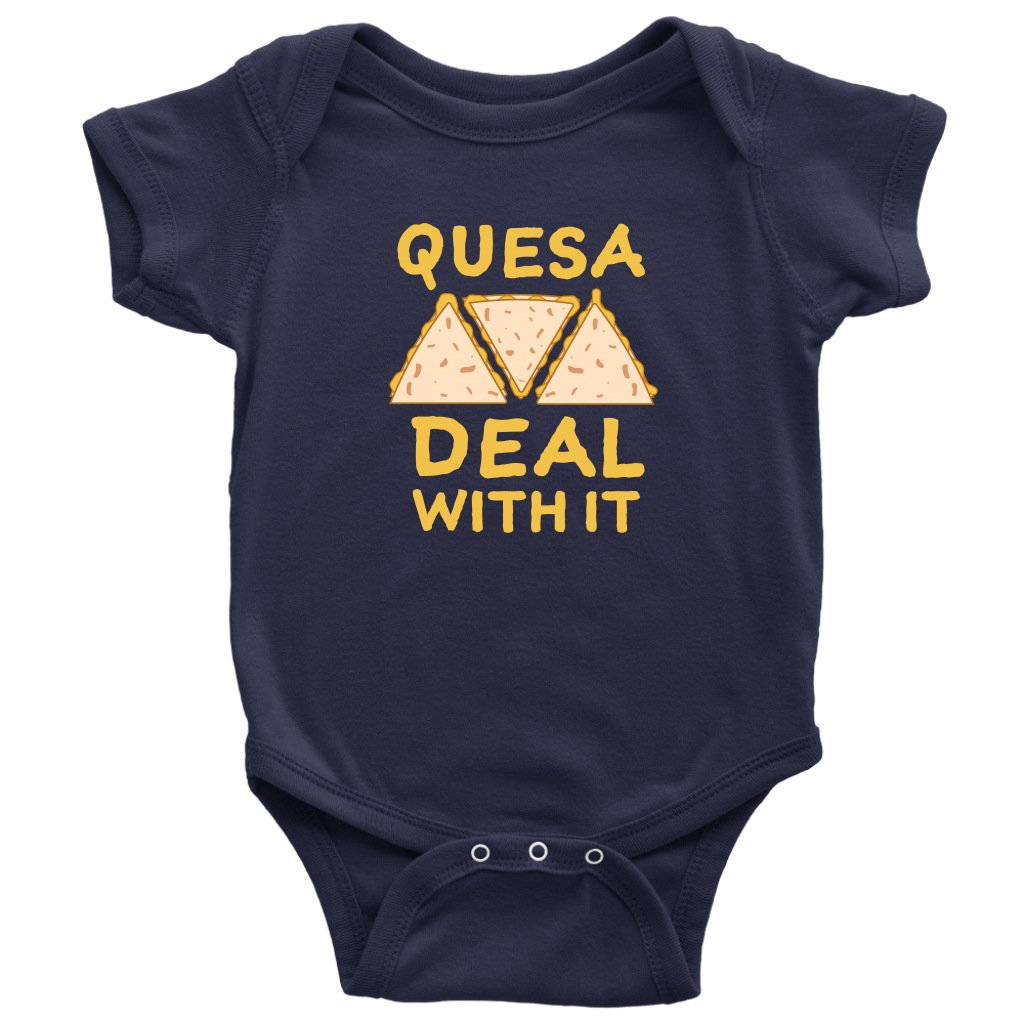 Quesa Deal With It Onesie