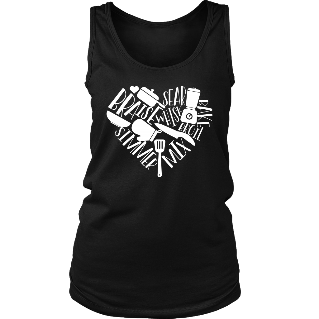 Love to Cook Ladies Tank