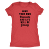Mind Your Own Biscuits Ladies T-Shirt