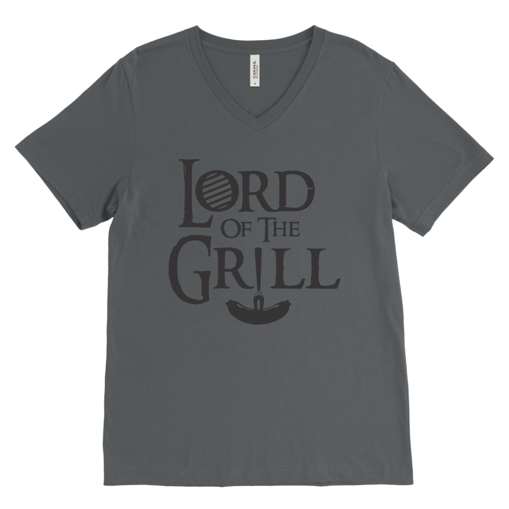 Lord Of The Grill Mens V-Neck