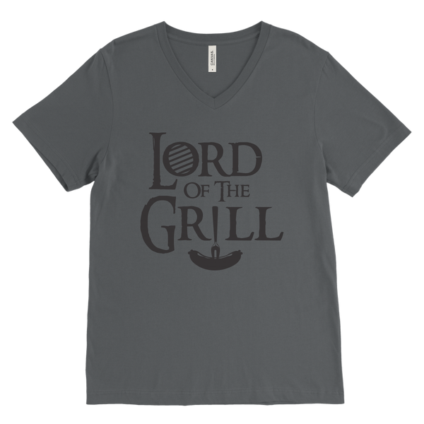 Lord Of The Grill Mens V-Neck T-Shirt