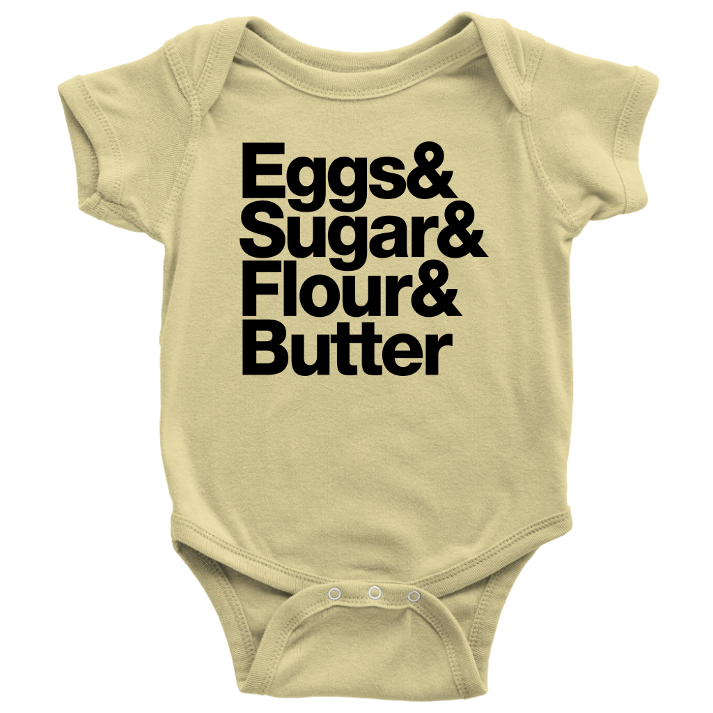 Baking Essentials Onesie