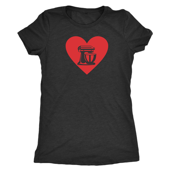 Heart My Mixer Ladies T-Shirt