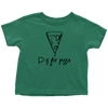 P is for Pizza Toddler T-Shirt