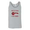 How I Cut Carbs Unisex Tank