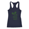 Oh Kale No Ladies Racerback Tank