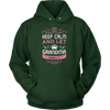 Keep Calm Grandma Hooded Sweatshirt