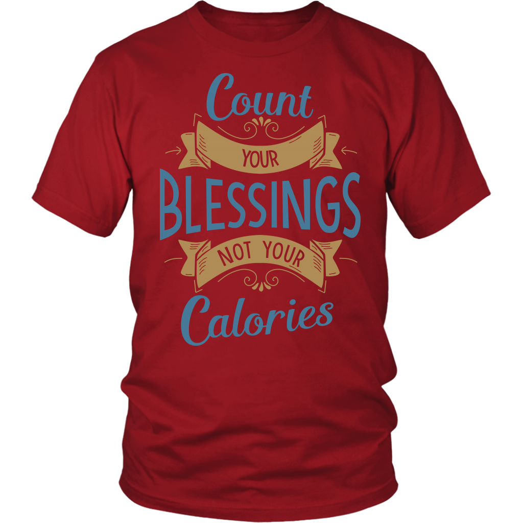 Count Your Blessings Ladies T-Shirt