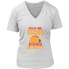 Feed Me Tacos V-Neck T-Shirt