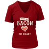 Don't Go Bacon V-Neck T-Shirt