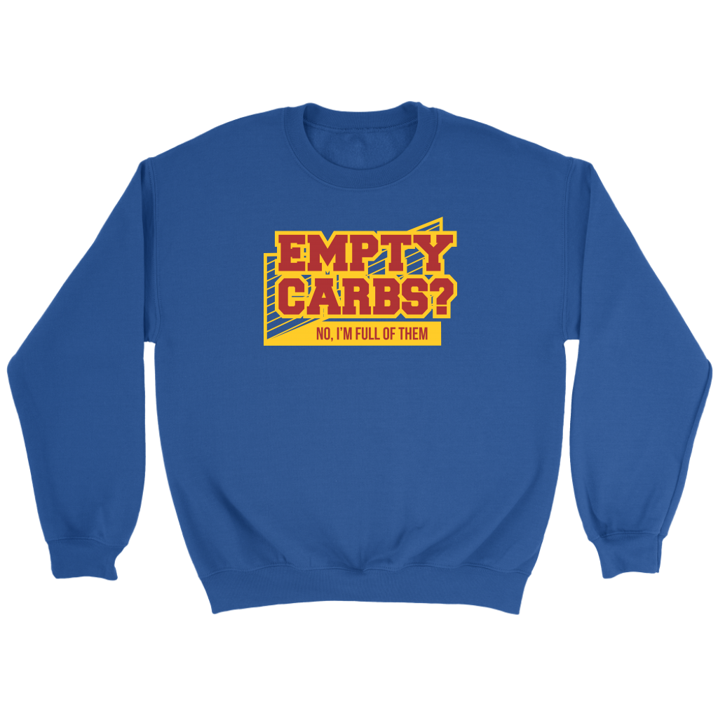 Empty Carbs Crew Sweatshirt
