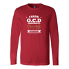 O.C.D. Chocolate Long Sleeve T-Shirt
