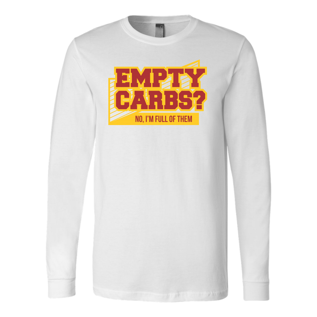 Empty Carbs Ladies T-Shirt