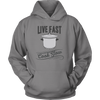 Live Fast, Cook Slow Hooded Sweatshirt