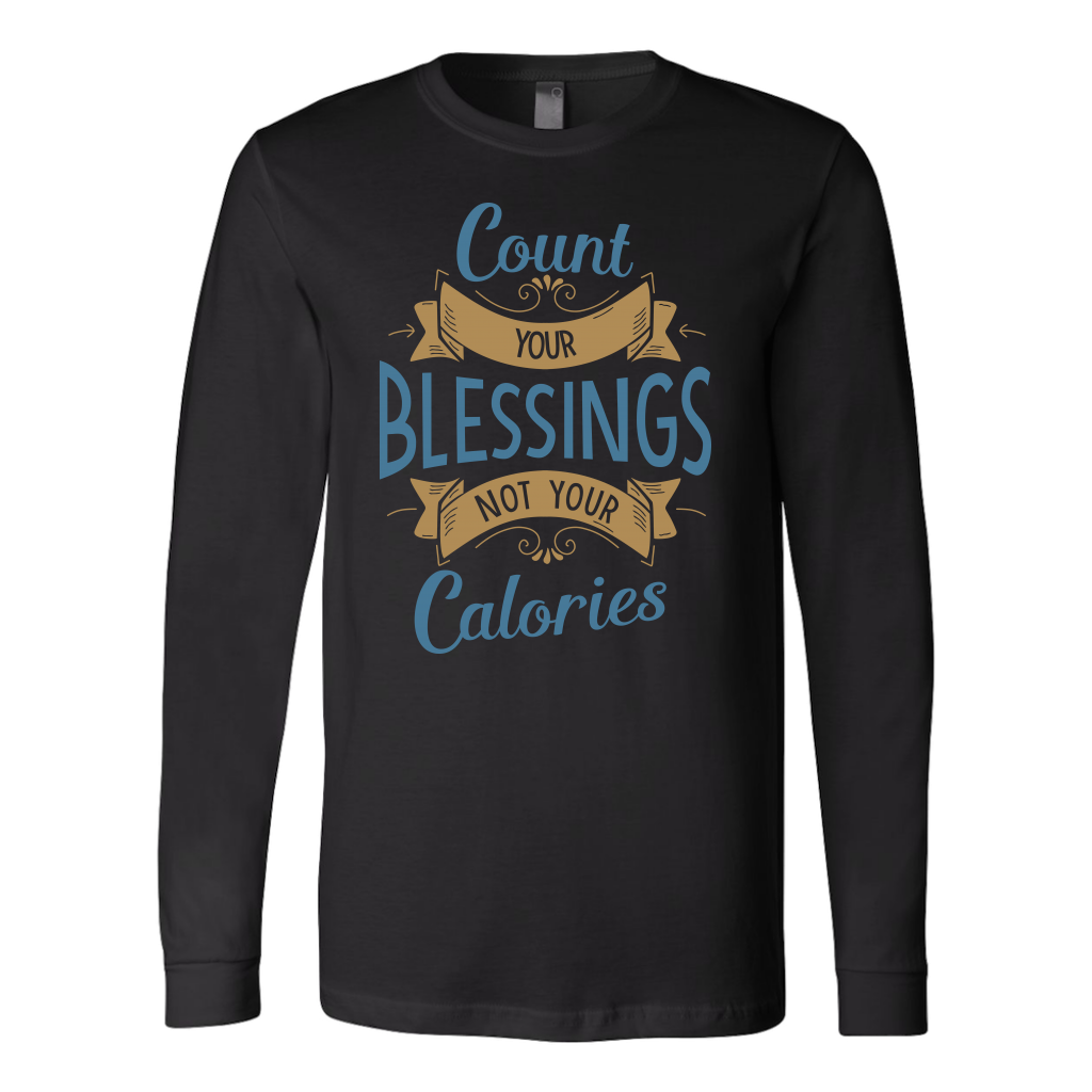 Count Your Blessings Long Sleeve T-Shirt