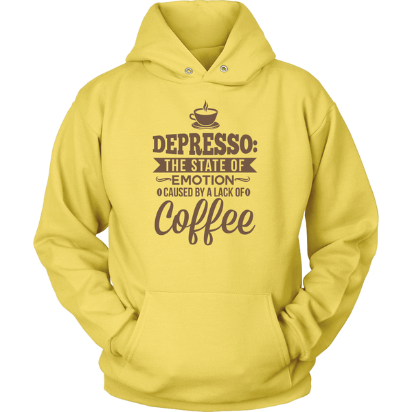 Depresso Hooded Sweatshirt