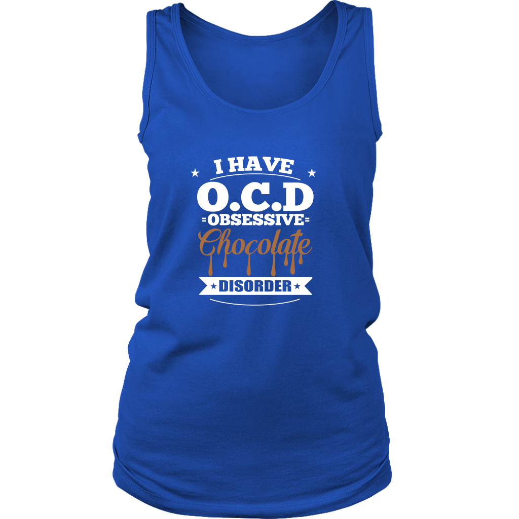 O-C-D Chocolate Ladies T-Shirt