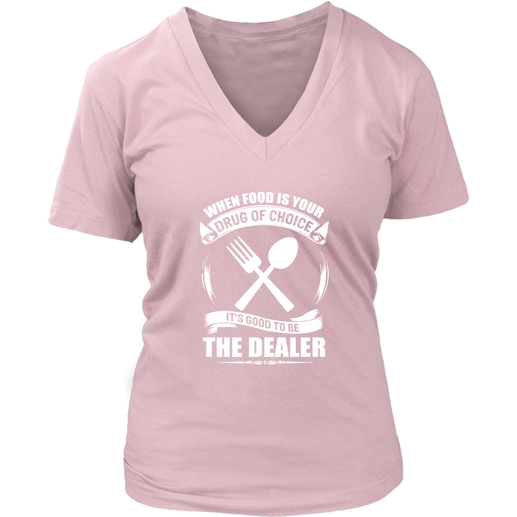 Food Dealer Ladies T-Shirt