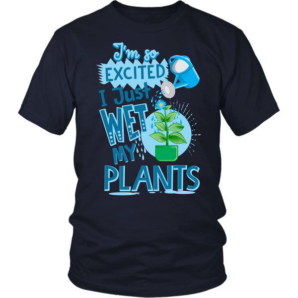 Wet Plants Ladies T-Shirt