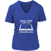 When I Think About You V-Neck T-Shirt