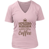 Depresso V-Neck T-Shirt