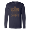 Depresso Long Sleeve T-Shirt