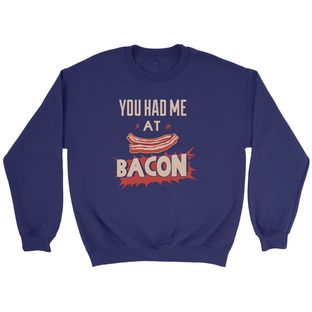 Bacon Crew Sweatshirt