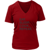 Eat Sleep Cook Repeat V-Neck T-Shirt