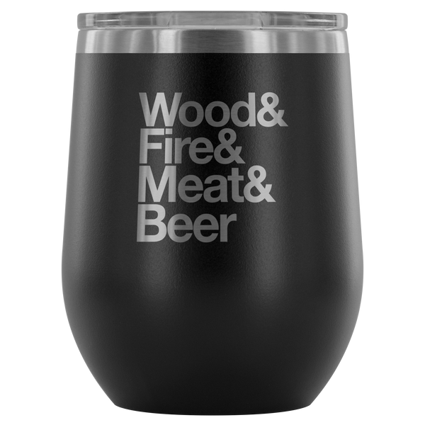 Camping Essentials Wine Tumbler