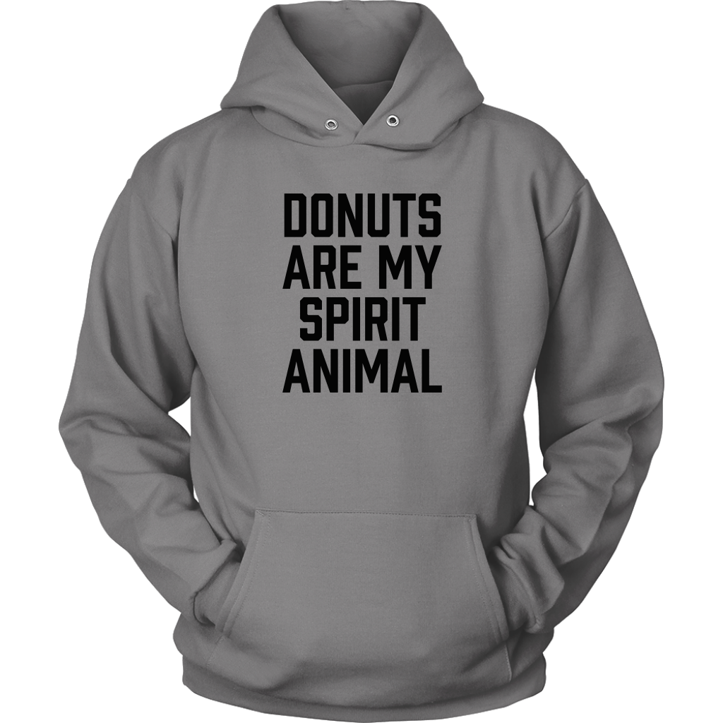 Donuts Are My Spirit Animal Hooded Sweatshirt