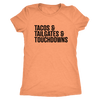 Tailgating Essentials Ladies T-Shirt