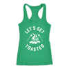 Get Toasted Ladies Racerback Tank