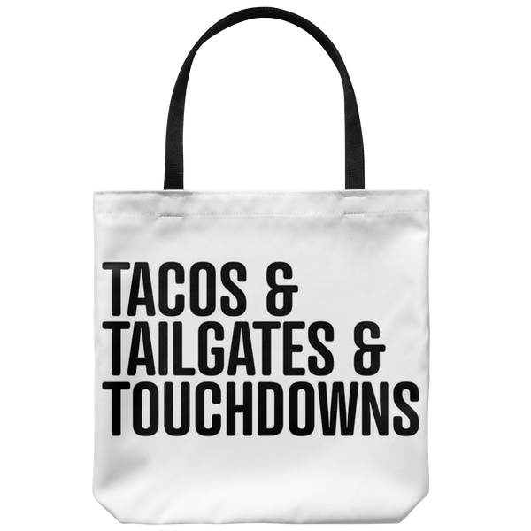 Tailgating Essentials Tote Bag